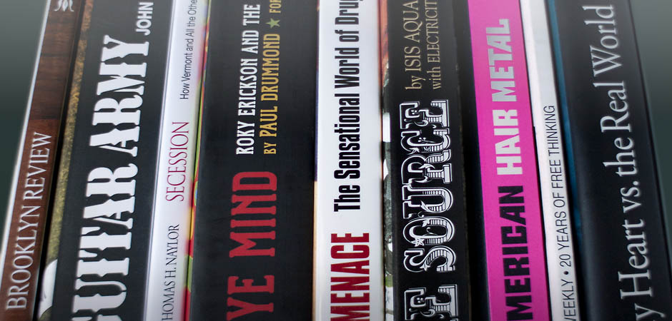 Book cover spines