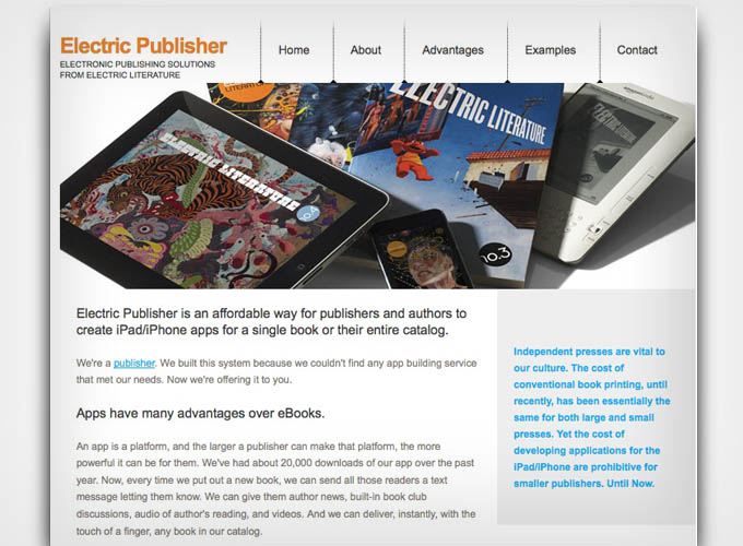 Electric Publisher
