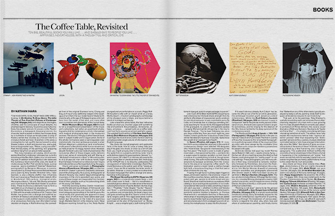 La weekly last pages designsimple for Coffee table book design