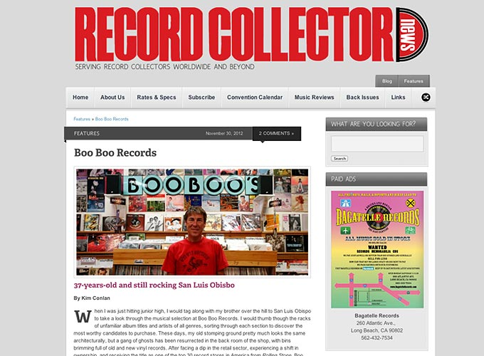 Record Collector News